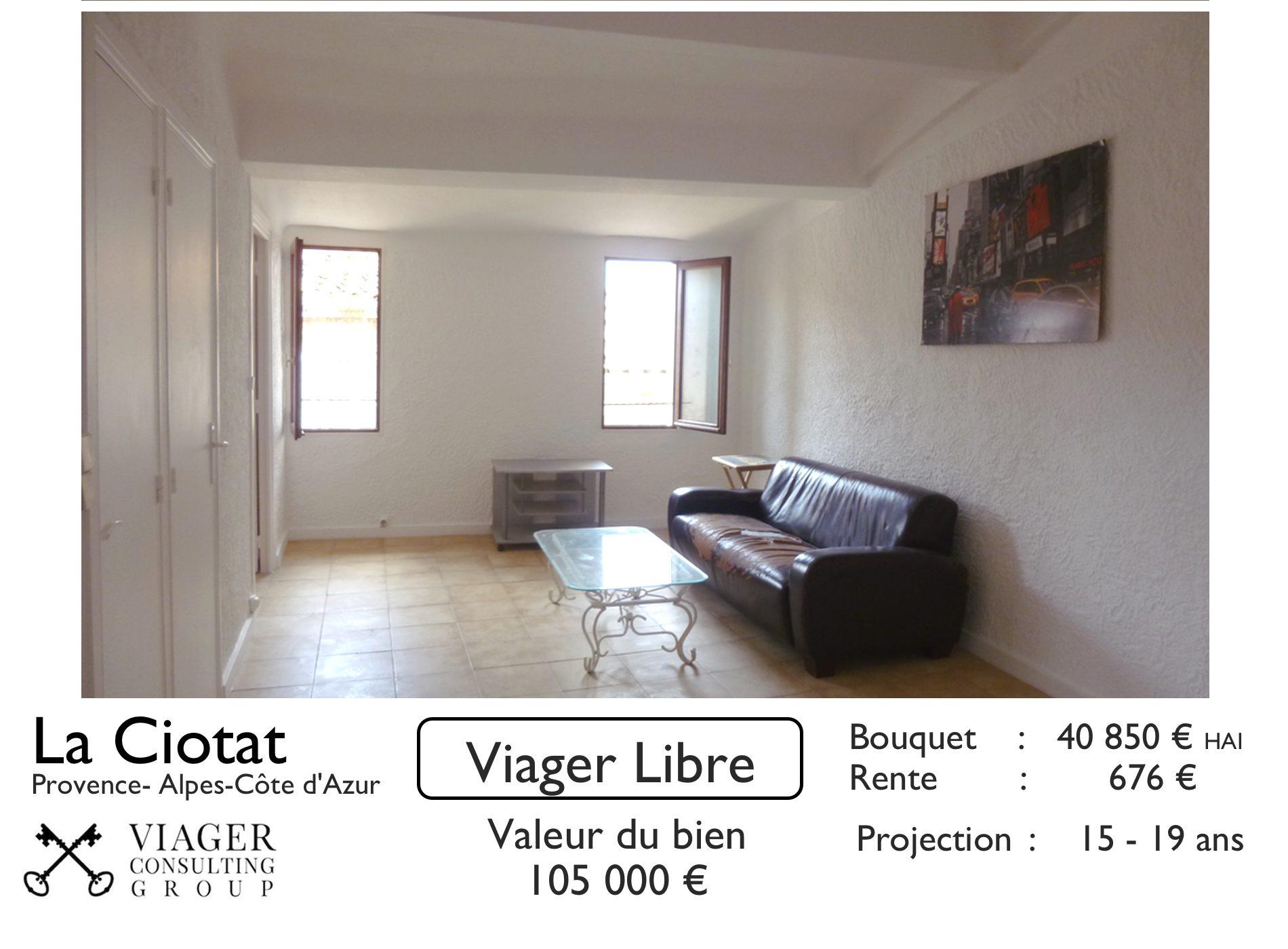 appartement vendre en viager libre la ciotat 13600 nuepro viager. Black Bedroom Furniture Sets. Home Design Ideas